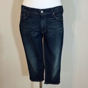 7 For All Mankind Slouchy Capri Jeans Size 27
